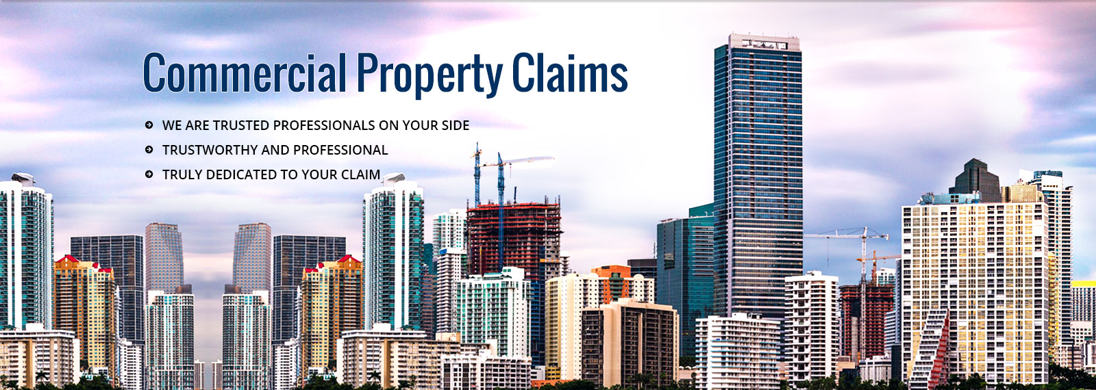 florida commercial insurance claim